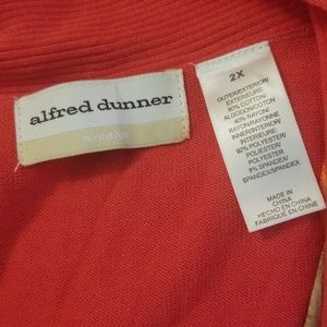 Alfred Dunner Tops - Alfred Dunner 2 PC Look Cami/Cardigan Set